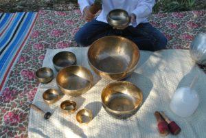 Méditation au son des bols tibétains et cristal – QiGong assis – Respirations Taoïstes.